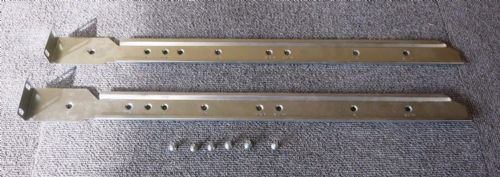 Gerenic SX19022 Data Rack Cabinet Rails 510mm With Screws